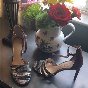 Jessica Simpson high heels Worn one time